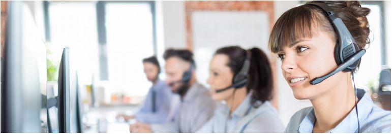 Customer Service Professional Image